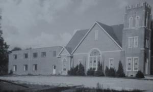 Fletcher First Baptist Church 1956 - New educational building