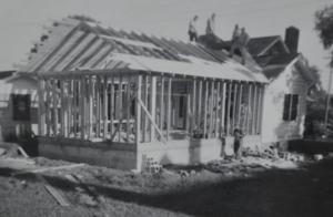 Fletcher First Baptist Church - Parsonage being remodeled.